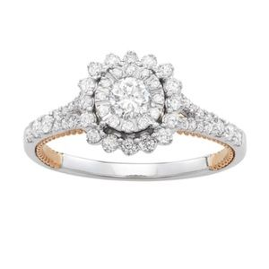 Vera Wang Diamond Engagement Wedding Ring💋 57ddbfb3ec